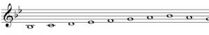 Si bemol flauta